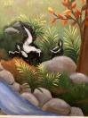 Skunks forest