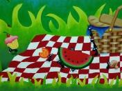 Bugs watermelon