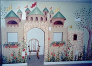 Castle playroom green