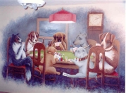 Characters Poker Dogs