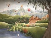 Dinosaurs scene