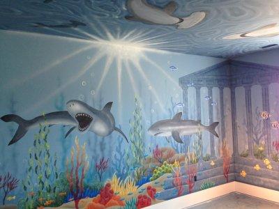 Shark ocean