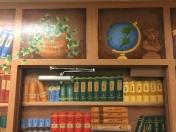 Bookcase globe