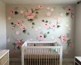 roses wall