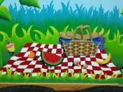 Garden - picnic ants