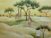Jungle - Safari giraffes