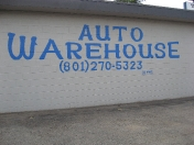 Lettering Auto Warehouse