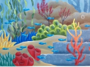 Ocean bold coral
