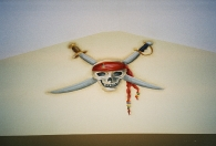Pirate - skull swords