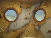 Pirate - map portholes