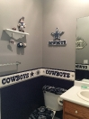 Cowboys bathroom