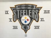 Steelers wall