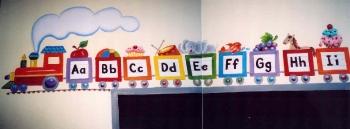 lettering-abc-train