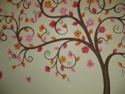 Tree Pink orange