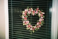 Windows -valentines wreath