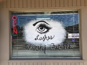 Salon lashes
