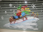 Windows - sled kids