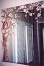 Windows - tree white blossoms